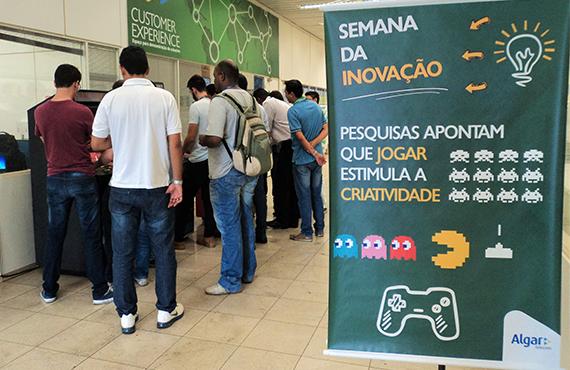 Espaço Inovação: ambiente da Algar Telecom para discussão de ideias
