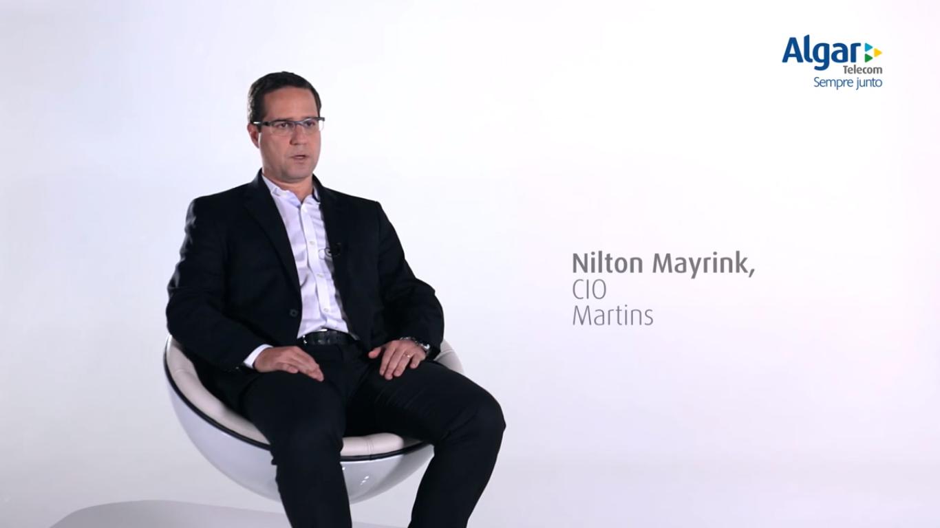 Martins: TI é parte fundamental do negócio