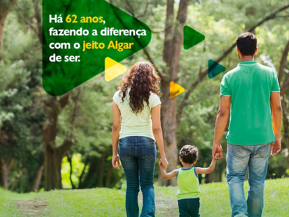 Algar Telecom: sempre junto, há 62 anos
