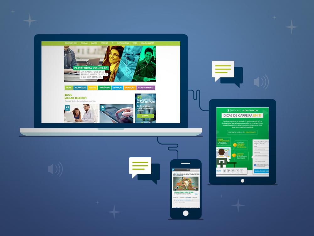 Novas estratégias: segmento Empresas da Algar Telecom aposta em Marketing de Conteúdo
