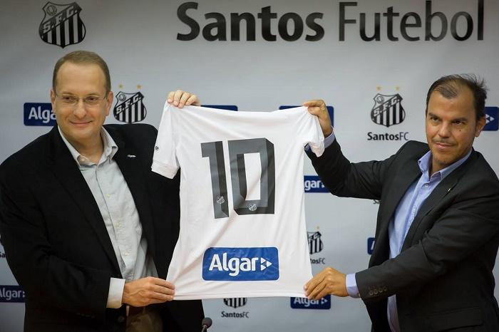 Grupo Algar é o mais novo patrocinador do Santos Futebol Clube