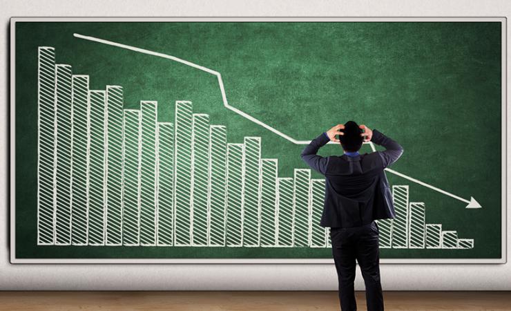 Como lidar com o cenário de queda nas vendas