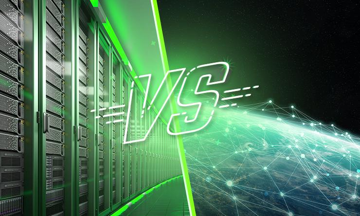 Infraestrutura de TI X Qualidade da internet