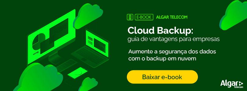 Baixar e-book Cloud Backup Guia de Vantagens