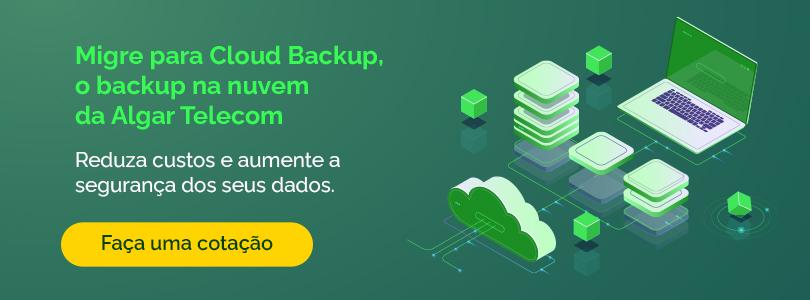 Faça uma cotação do Cloud Backup